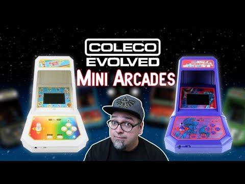 Coleco Evolved Mini Arcades Robotech & Rainbow Brite Kickstarter Live Now