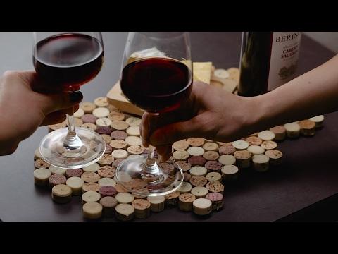 DIY Wine Cork Placemat