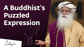 A Buddhist asks Sadhguru a Puzzling Question #Vipassana