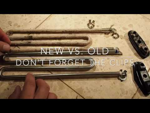 How to Replace a Washing Machine Heater - Miele 6260482