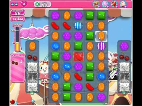 Candy Crush Saga Level 181, 3 Stars, No Boosters, No Cheats
