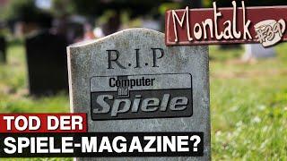 """Das Ende von """"Computer Bild Spiele"""": Stirbt der analoge Spielejournalismus aus?   Montalk #39"""