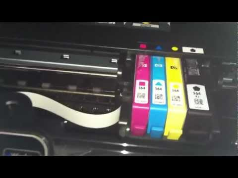Hp photosmart 5510 won't print black ink