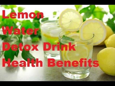 Lemon Water Detox Drink Health Benefits |   detox water recipe | detox water for weight loss