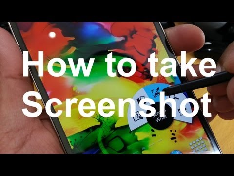 How to take a Screenshot / Print / Capture on Note 3 Episode 2