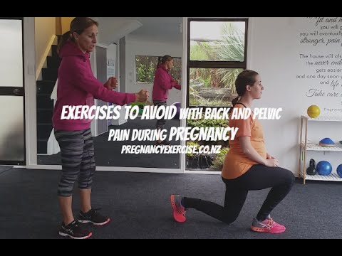 EXERCISES TO AVOID IF YOU HAVE BACK PAIN DURING PREGNANCY