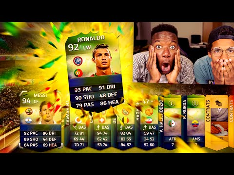 RETRO FIFA COUPE DU MONDE PACK OPENING  !! - FIFA SPECIAL PACK !!