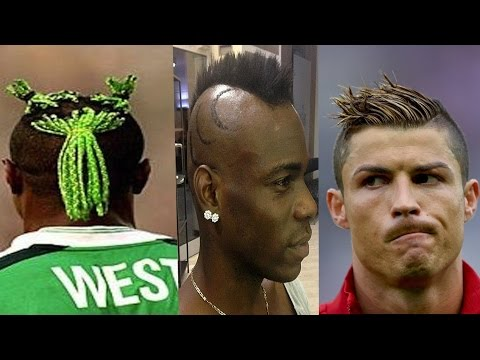 10 Craziest  Hair Styles of FIFA Players (Worldcup Edition)