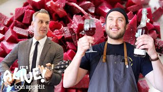 Brad Makes Beet Kvass | It