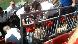 EPIC DRUNKEN FOOTBALL FAN FIGHT!!! (As Seen on 10 News Tampa Bay)