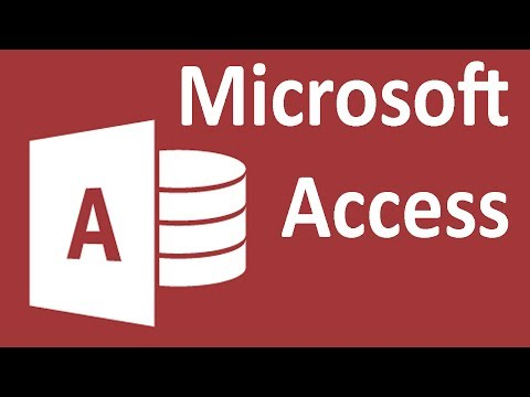 Access 2013 - Tutorial 7 - Linked Tables
