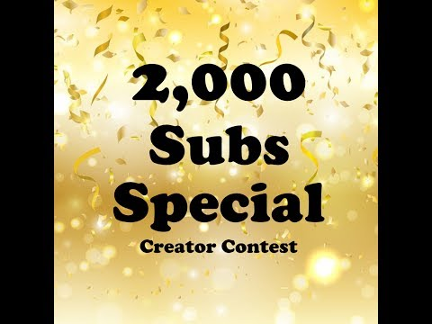 2k Subs Special: Creator Contest