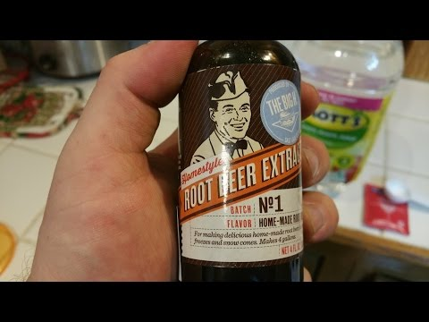 First attempt at making root beer
