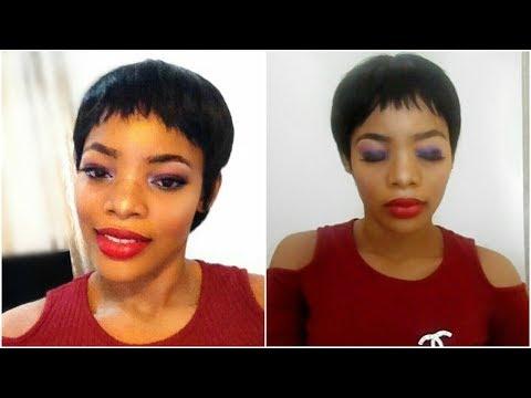 Smokey Eye and Red Lips Makeup Tutorial (Beginner Friendly) |  GoldQueen Queency