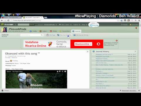 deviantART || How to embed youtube videos in journal entries