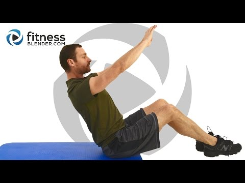 23 Minute Active Static Abs Workout - At Home Abs Burnout Routine