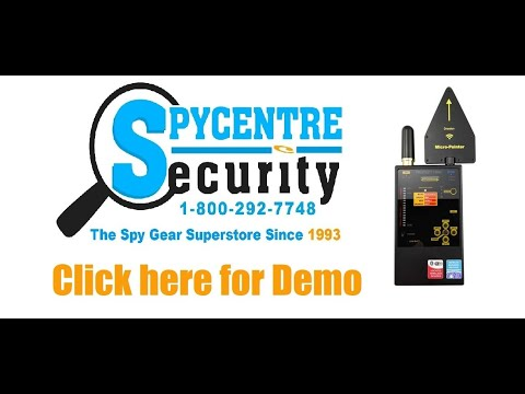 Professional Digital RF Wireless Bug Detector - Review