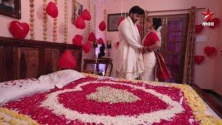 First night రోజు పాలు బదులు టీ aa ?? 😂😂 గౌరీ-శంకర్ ❤️❤️   #AgniSakshi Today at 6:30 PM on Star Maa