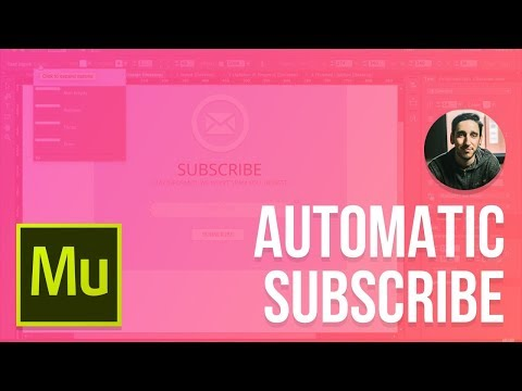 Adobe Muse 2015 Tutorial | Automatic Subscribe Lightbox