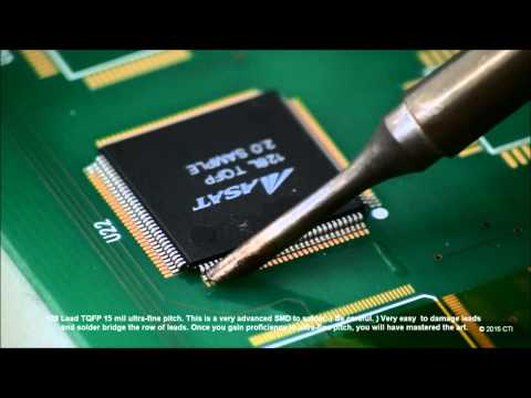 Master Soldering:  Surface Mount Fine-Pitch - Highly Recommended