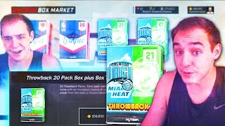 NBA 2K17 My Team NEW THROWBACK PACKS?!?! WAIT WTF IS THIS!
