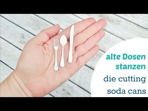Metall stanzen - die cutting soda cans
