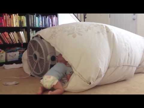 Fan Blanket Fort