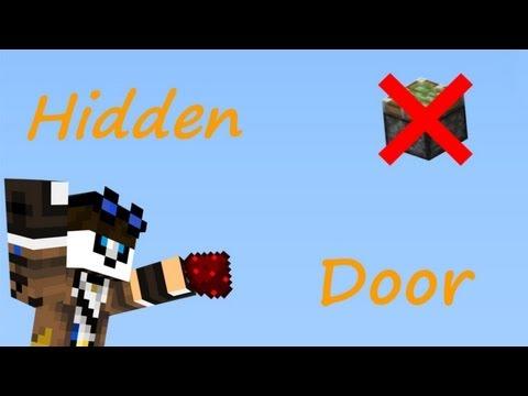 How to make a hidden piston door (no sticky pistons!)