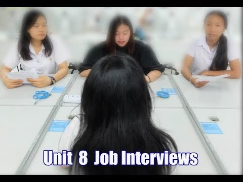 Job Interview การสัมภาษณ์งานภาษาอังกฤษ 2