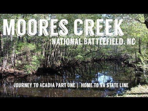 Moores Creek National Battlefield | Journey to Acadia Part One | Wandering Around In Wonder