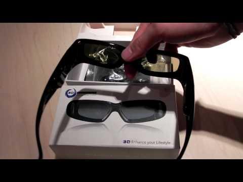 Universal 3D Active Shutter Glasses