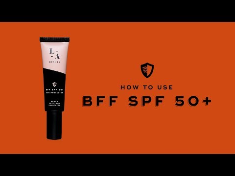 How To Use BFF SPF 50+ Sun Protector From LaserAway Beauty