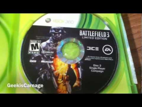 Battlefield 3 Limited Edition For Xbox 360 Unboxing/ Overview