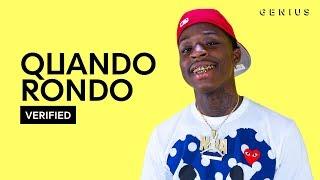 "Quando Rondo ""Kiccin Shit"" Official Lyrics & Meaning | Verified"