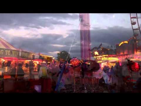 Muddy Evening at Hoppings Fair