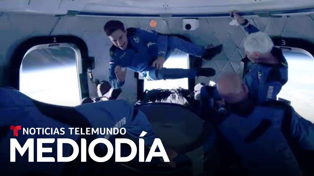 Noticias Telemundo Mediodía, 20 de julio de 2021   Noticias Telemundo