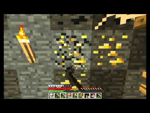 Minecraft: How to find Diamond, Gold And Iron! All in the same cave!