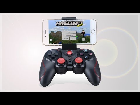 How to Play Minecraft PE with a Controller!!! (Android,Ios,PC)
