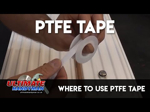 Where to use PTFE tape