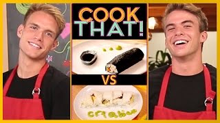SUSHI CHALLENGE w/ the Rhodes Bros | COOK THAT