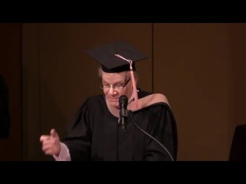Bruce Coppock Delivers Keynote Speech at Colburn Conservatory Commencement 2016