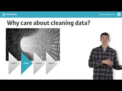 R tutorial: Introduction to cleaning data with R