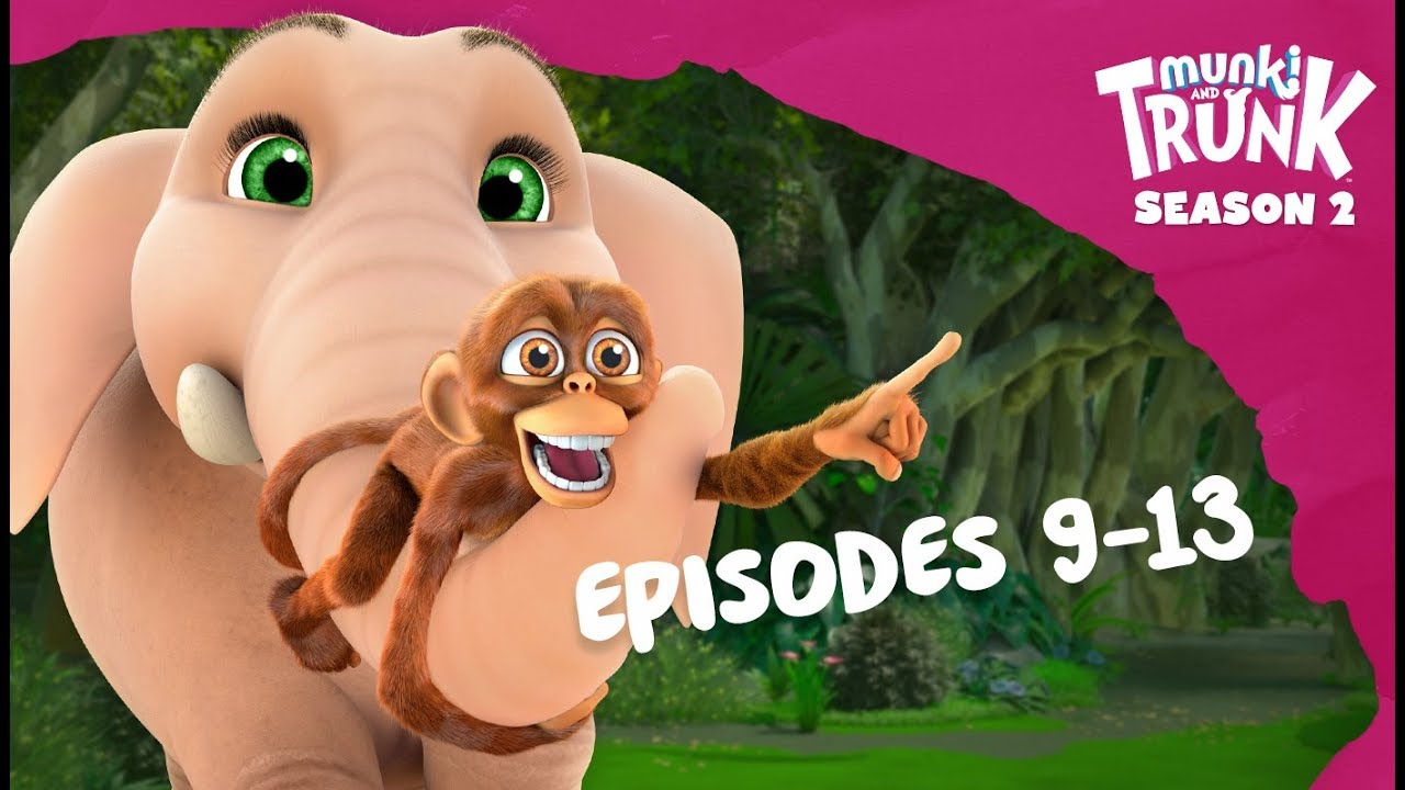 M&T Full Episodes S2 09-13 [Munki and Trunk]