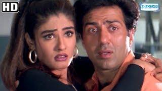 Raveena Tandon scenes from Salaakhen (1998) - Sunny Deol - Hit Hindi Movie