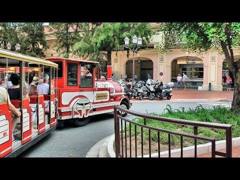 Quick Tour of Monaco in mini-train, French Riviera (Côte d'Azur) [HD] (videoturysta)