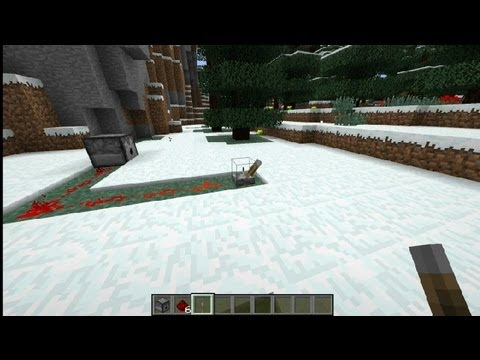How to Make a Snowball Launcher in Minecraft : Minecraft Tips