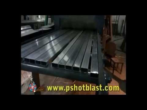 Aluminium Profile Shot Blasting Machine