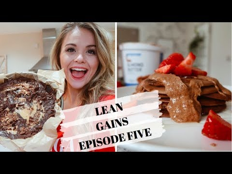 PERIOD CRAVINGS?! WHAT I ATE TODAY // Lean gains episode 5