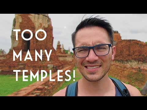 TEMPLE'D OUT in Ayutthaya, Thailand // Travel Vlog