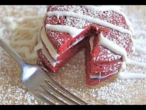 Red Velvet Pancakes Recipe (Prepare for ooo's and ahhhh's)